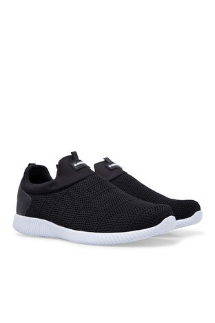 Slazenger Erkek Ayakkabı SA10QE017 SİYAH-BEYAZ