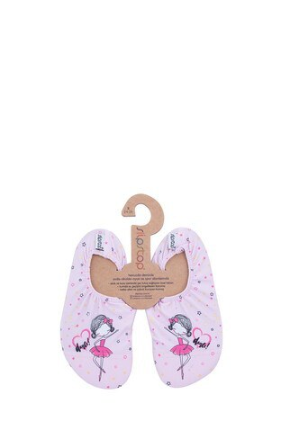Slipstop - Slipstop Dancer Kaydırmaz Havuz ve Deniz Çocuk Ayakkabı SS20110300 PEMBE