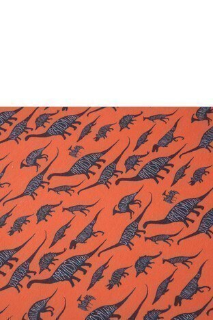 Slipstop Diplodocus Çocuk Havlu SH18110018 ORANJ
