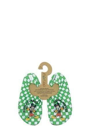 Slipstop - Slipstop Dude Kaydırmaz Havuz ve Deniz Çocuk Ayakkabı SS20120260 YEŞİL