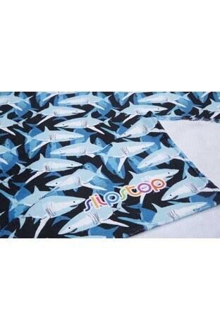 Slipstop Jack 70x150 Havuz ve Plaj Çocuk Havlu SH18110010 MAVİ