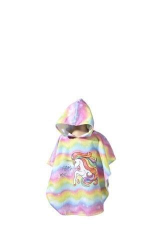 Slipstop - Slipstop Magical /Sarı-Pembe/ONE SIZE Çocuk Panço SH20110044 Sarı-Pembe