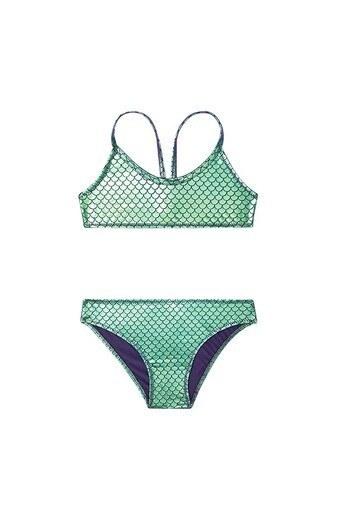 Slipstop Ivy Unisex Çocuk Bikini SM21110171 YEŞİL