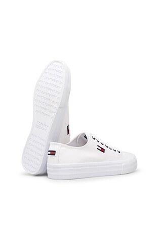 Tommy Hilfiger Casual Erkek Ayakkabı EM0EM00659 YBR BEYAZ