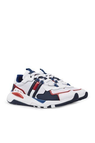 Tommy Hilfiger Günlük Spor Erkek Ayakkabı EM0EM00484 0K9 LACİVERT-BEYAZ