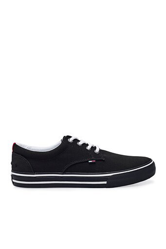 Tommy Hilfiger Sneaker Erkek Ayakkabı EM0EM00001 990 SİYAH