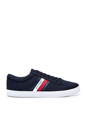Tommy Hilfiger Sneaker Erkek Ayakkabı FM0FM03389 DW5 LACİVERT