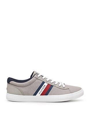 Tommy Hilfiger - Tommy Hilfiger Sneaker Erkek Ayakkabı FM0FM03389 PRT GRİ