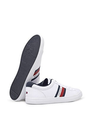 Tommy Hilfiger Sneaker Erkek Ayakkabı FM0FM03389 YBR BEYAZ