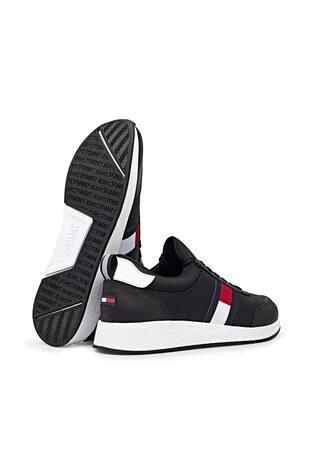 Tommy Hilfiger Spor Erkek Ayakkabı EM0EM00632 BDS SİYAH