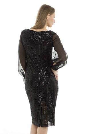 Trend Bayan Abiye Elbise 4784206 SİYAH