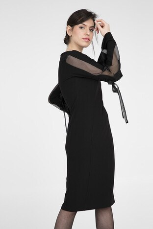 Trend Bayan Elbise 4784115 SİYAH