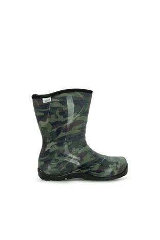 Twigy - Twigy Kamuflaj Erkek Çocuk Yağmur Çizmesi RR0864 CF KAMUFLAJ YEŞİL