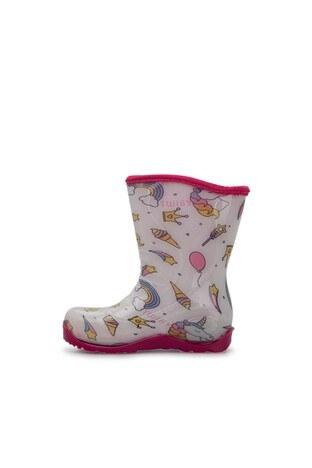 Twigy Tw At Kız Çocuk Yağmur Çizmesi RR0856 CF BEYAZ