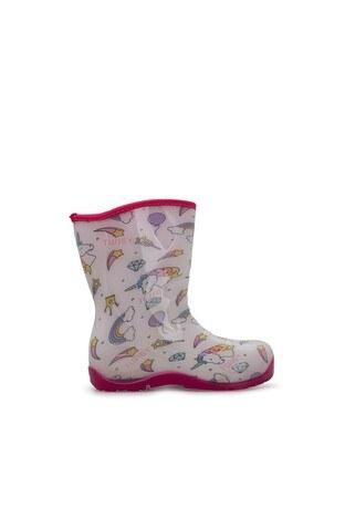 Twigy Tw At Kız Çocuk Yağmur Çizmesi RR0860 CF BEYAZ