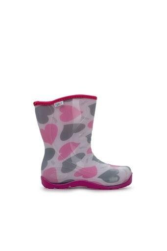 Twigy Tw Kalpli Kız Çocuk Yağmur Çizmesi RR0862 CF PEMBE