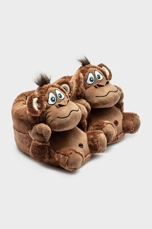 Twigy - Twigy Tw Monkey Bayan Panduf YY0285 KAHVE