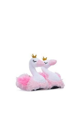 Twigy - Twigy Tw Swan Kız Çocuk Panduf TT0866 CF PEMBE