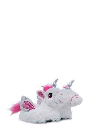 Twigy - Twigy TW Unicorn Kadın Panduf RR0532 BEYAZ