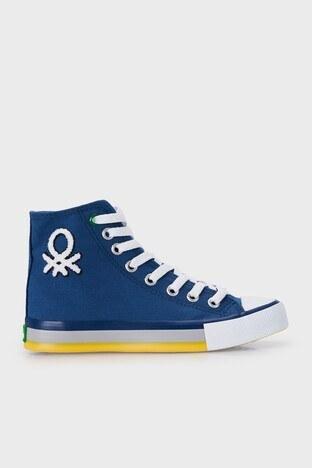 United Colors Of Benetton - United Colors Of Benetton Bilekli Sneaker Bayan Ayakkabı BN-30541 LACİVERT