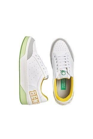 United Colors Of Benetton Sneaker Bayan Ayakkabı BN-30210 SARI