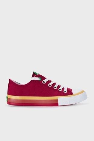 United Colors Of Benetton - United Colors Of Benetton Sneaker Bayan Ayakkabı BN-30542 BORDO