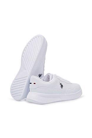 U.S. Polo Assn. Bayan Ayakkabı ABE 1FX BEYAZ