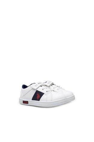 U.S. Polo Assn Erkek Çocuk Ayakkabı CALLO WT BEYAZ