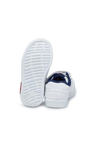 U.S. Polo Assn Sneaker Erkek Çocuk Ayakkabı CAMERON WT 9PR K BEYAZ