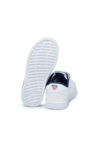 U.S. Polo Assn Erkek Çocuk Ayakkabı CAMERONJ BEYAZ