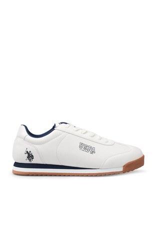 U.S. Polo Assn - U.S. Polo Assn Sneaker Erkek Ayakkabı DEEP 9PR BEYAZ