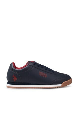 U.S. Polo Assn - U.S. Polo Assn Sneaker Erkek Ayakkabı DEEP 9PR LACİVERT