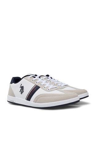 U.S. Polo Assn Sneaker Erkek Ayakkabı KARES WT 9PR BEYAZ