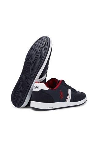 U.S. Polo Assn Sneaker Erkek Ayakkabı KARES WT 9PR LACİVERT