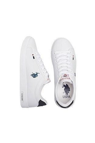 U.S. Polo Bayan Ayakkabı FRANCO WMN 1FX BEYAZ