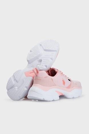 U.S. Polo Sneaker Bayan Ayakkabı GAL TEX PEMBE