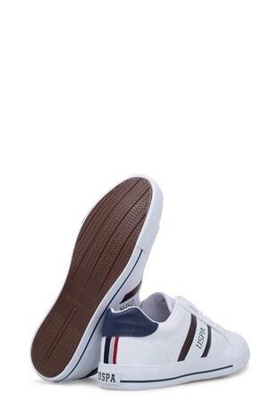 U.S. Polo Erkek Ayakkabı PURE BEYAZ