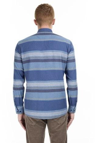 U.S. Polo Erkek Gömlek G081GL004 852460 LACİVERT