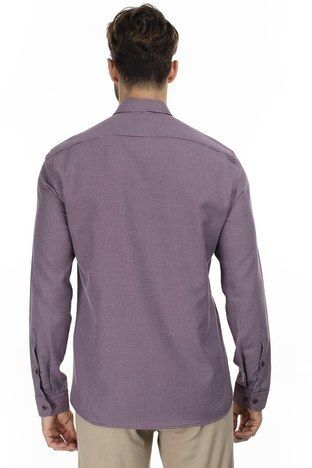 U.S. Polo Erkek Gömlek G081GL004 852581 BORDO