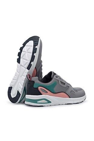U.S. Polo Günlük Spor Bayan Ayakkabı VENUS WMN 1FX Gri-Pudra