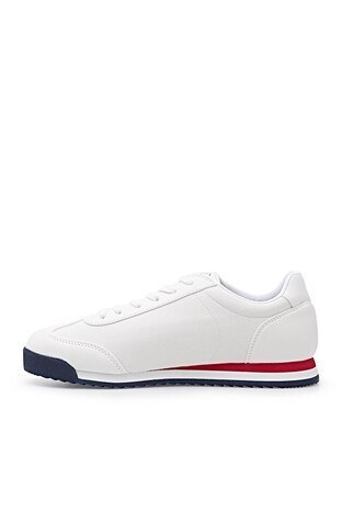 U.S. Polo Günlük Spor Erkek Ayakkabı DEEP SMR 1FX BEYAZ