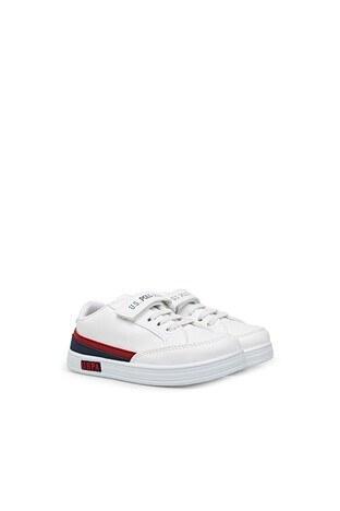 U.S. Polo Erkek Çocuk Ayakkabı P JAMAL 1FX BEYAZ