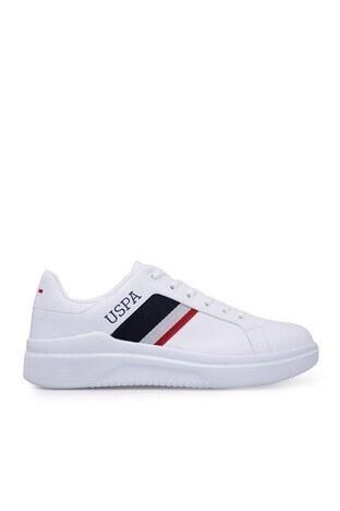 U.S. Polo Sneaker Bayan Ayakkabı CAMEL BEYAZ