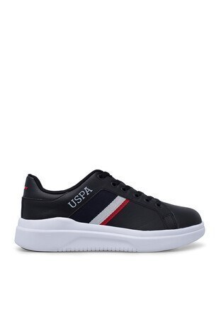 U.S. Polo Assn - U.S. Polo Sneaker Bayan Ayakkabı CAMEL SİYAH