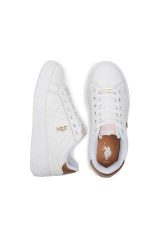 U.S. Polo Sneaker Bayan Ayakkabı EXTRA BEYAZ