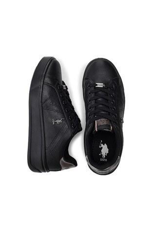 U.S. Polo Sneaker Bayan Ayakkabı EXTRA SİYAH-SİYAH
