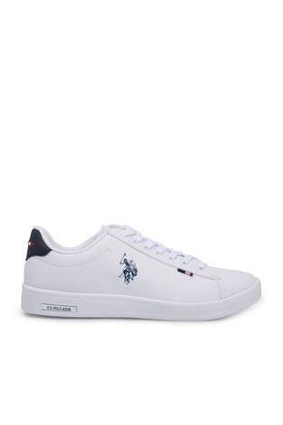 U.S. Polo Assn - U.S. Polo Sneaker Bayan Ayakkabı FRANCO DHM BEYAZ
