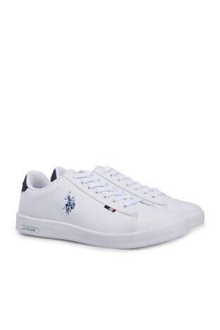 U.S. Polo Sneaker Bayan Ayakkabı FRANCO DHM BEYAZ