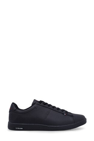 U.S. Polo Assn - U.S. Polo Sneaker Bayan Ayakkabı FRANCO SİYAH-SİYAH