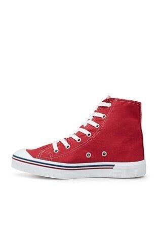 U.S. Polo Sneaker Bayan Ayakkabı PENELOPE HIGH 1FX KIRMIZI